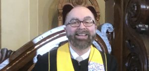 Rev. Dr. Jay Terbush, Transitional Pastor