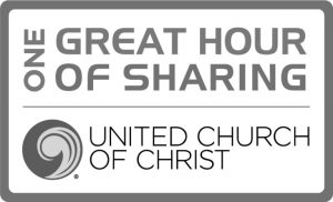 UCC Logo: One Great Hour of Sharing Lenten Campaign